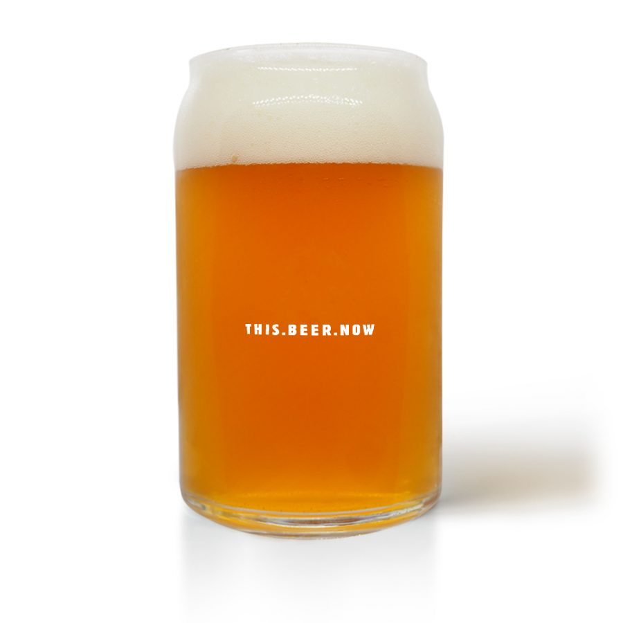 Suds Can Beer Glass
