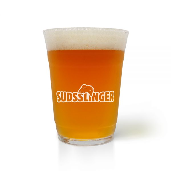 Suds Party Beer Glass