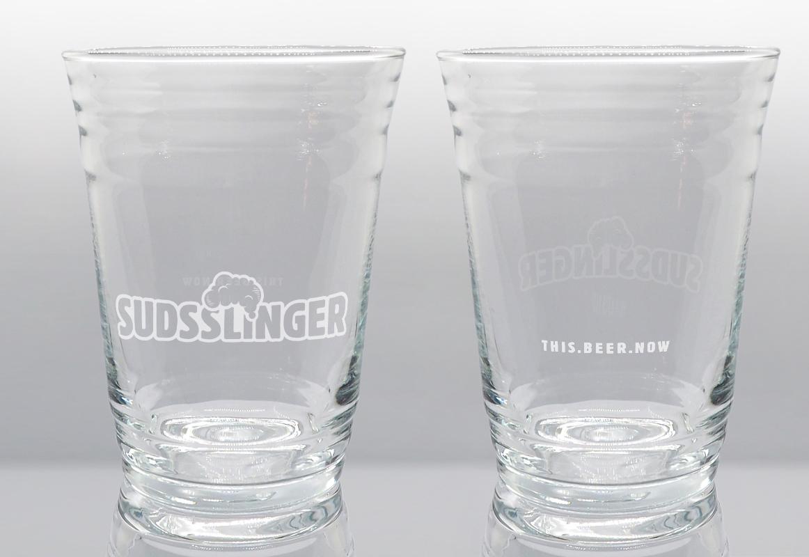 Suds Party Craft Beer Glass Set Original Suds