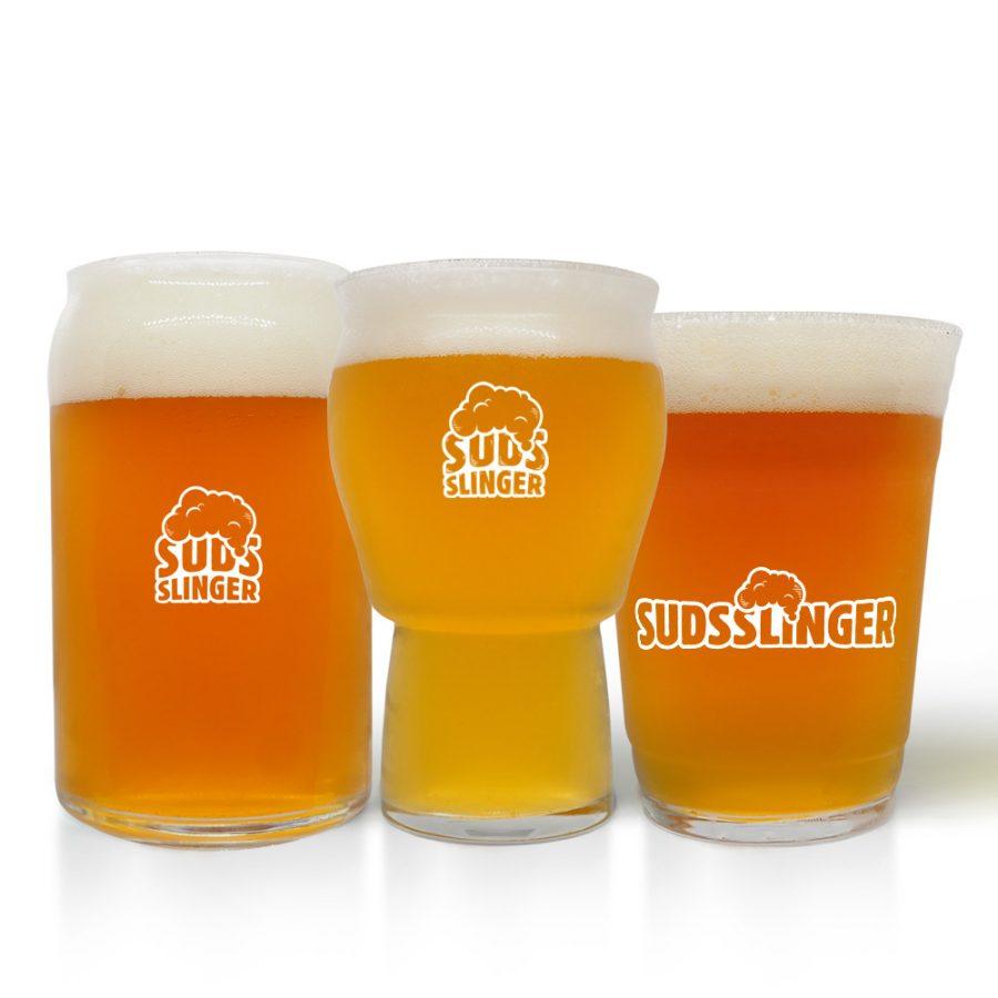 Suds Slinger Craft Beer Glass Set