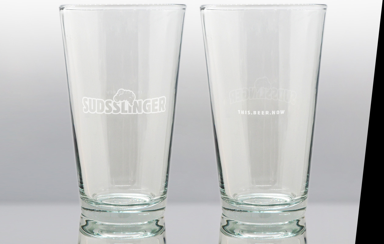 Suds Draught Beer Glass