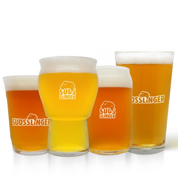 Suds Pint Beer Glass Set