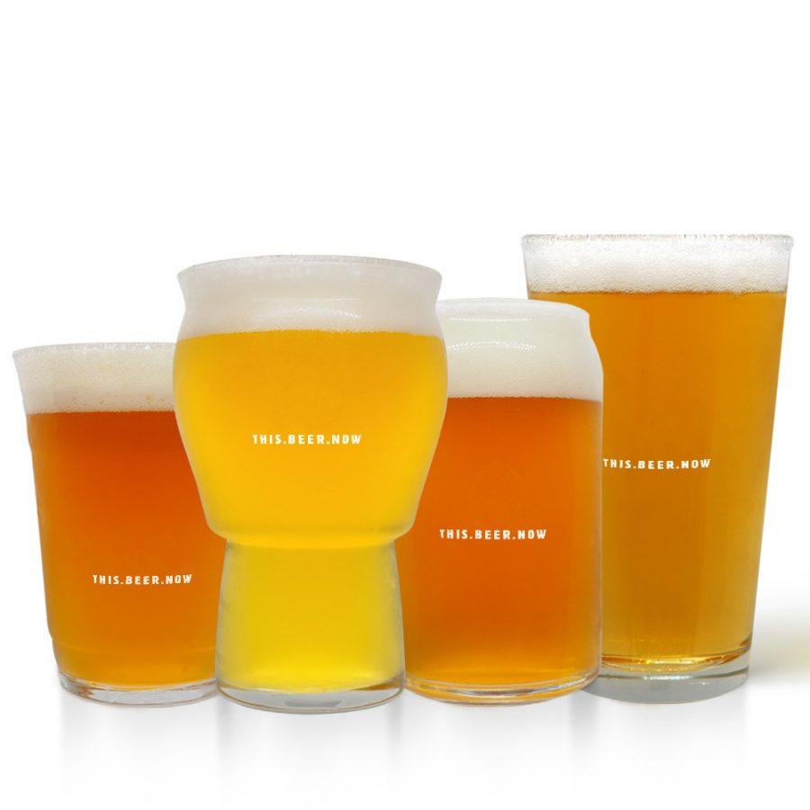 Suds Pint Beer Glass Set
