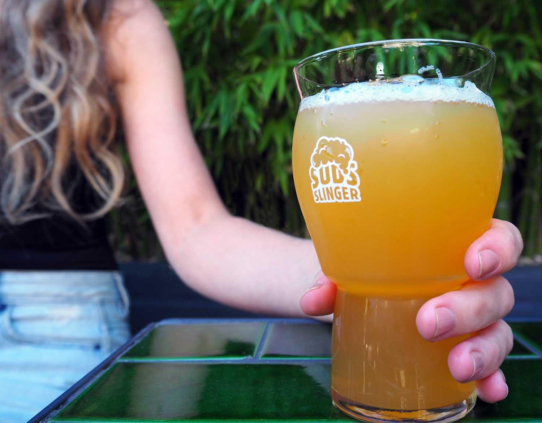 Suds Slinger Craft Beer Glasses